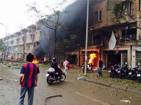 Lời kể của người giúp sức nạn nhân gây ra vụ nổ ở Hà Nội