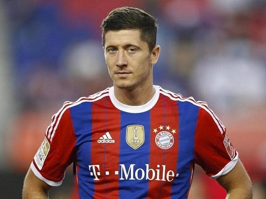 Lewandowski sẽ cập bến Man City trong mùa hè này?. (Ảnh: Internet)