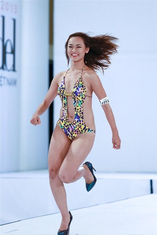 Ngoại hình và gương mặt không phù hợp với chương trình khiến Quỳnh Mai bị tẩy chay. (Ảnh: Internet)