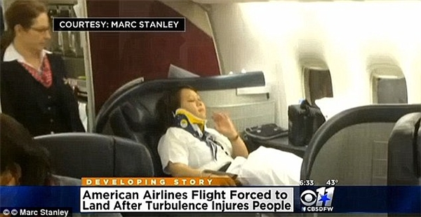 Bốn hành khách và một thành viên phi hành đoàn đã phải nhập viện nhưng rất may là chấn thương không ảnh hưởng gì tới tính mạng.