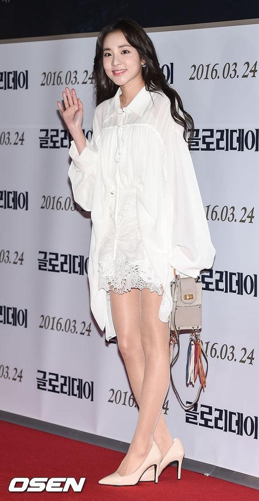 Dara (2NE1) khoe nhan sắc không tì vết ở tuổi 32.