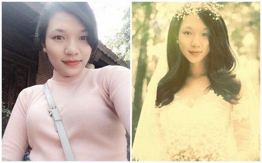 Rộ trào lưu chị em nhờ nhau ghép ảnh, hóa thân thành cô dâu xinh đẹp