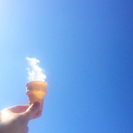 Kem của trời hãy để gió nếm đi (Ảnh: sayhellojo)