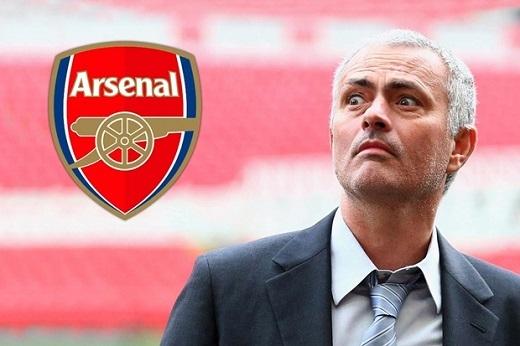 Arsenal cũng muốn có Mourinho. (Ảnh: Internet)