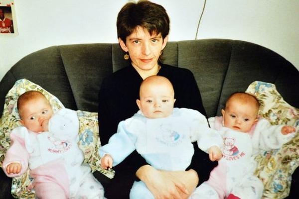 Kirsty, Andy và Gemma sinh ra vốn là những cậu bé khi mới sinh