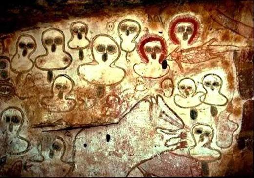 Thổ dân Úctin rằng Wondjima chính là thần linh đã tạo ra Trái Đất và con người.(Ảnh: Internet)