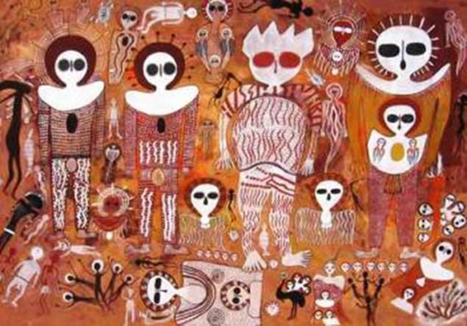 Thổ dân Úc tôn thờ Wondjima như tổ tiên của mình.(Ảnh: Internet)