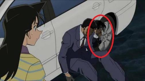 Tình tiết phi lí đến kì lạ trong Conan mà không phài ai cũng nhận ra