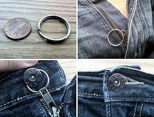 Đây chính là giải pháp dành cho khóa quần của bạn. (Ảnh: Internet)