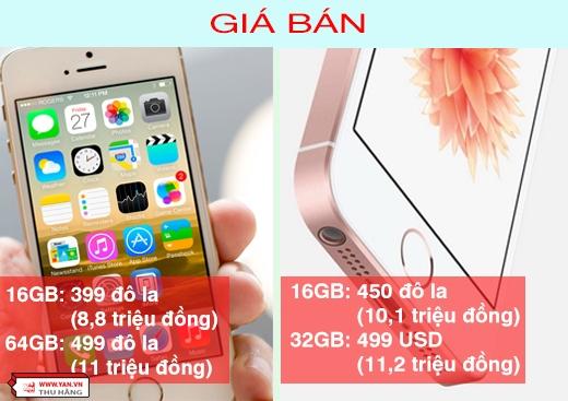 Đây chỉ là mức giá tham khảo ở thị trường Mỹ. Theo các nhà phân tích thị trường, nếu về Việt Nam, iPhone SE cũng sẽ có giá tầm 10 triệu đồng. Trong khi đó, giá iPhone 5s bản 16GB trong nướcđang là 8 - 8,5 triệu đồng.