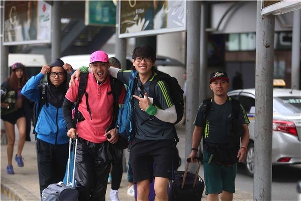MC Huy Khánh phấn khích khi trở lại đường đua cùng dàn sao Việt - Tin sao Viet - Tin tuc sao Viet - Scandal sao Viet - Tin tuc cua Sao - Tin cua Sao
