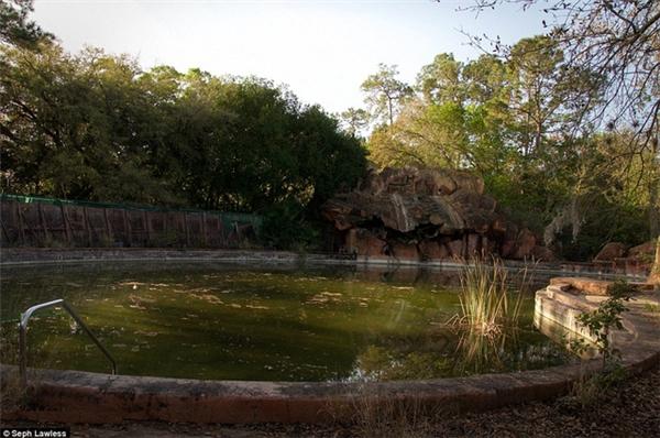 Hồ Murky đã từng là hồ bơi yêu thích của nhiều khách du lịch.