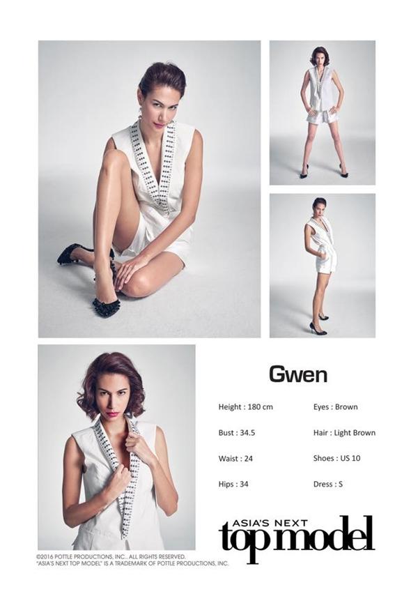 Gwen liên tụcđứngáp chót trong bảng xếp hạng.