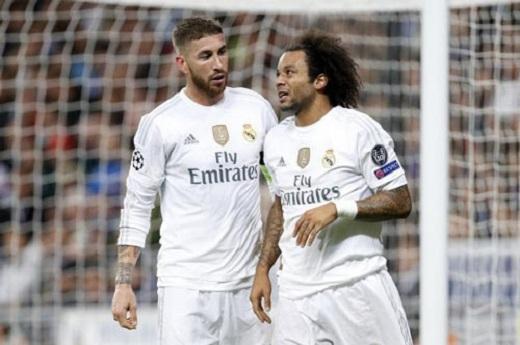James Rodriguez khiến Ramos và Marcelo nổi giận vì đòi được tăng lương ngang hàng các trụ cột Real.(Ảnh: Internet)