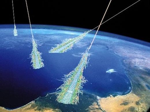 Lá chắn từ trường để ngăn cản bức xạ vũ trụ đến Trái Đất.