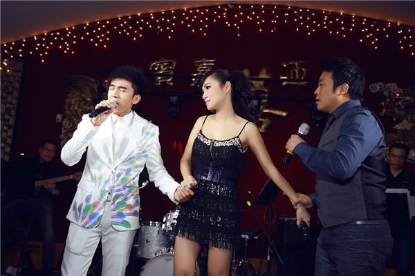 Ca sĩ Đan Trường, Kavie Trần, Gia Huy - cả 3 người đã có màn phối hợp đầy ngẫu hứng - Tin sao Viet - Tin tuc sao Viet - Scandal sao Viet - Tin tuc cua Sao - Tin cua Sao