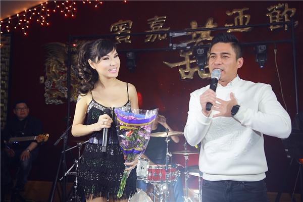 Kavie Trần cùng với nam ca sĩ Andy Quách - Tin sao Viet - Tin tuc sao Viet - Scandal sao Viet - Tin tuc cua Sao - Tin cua Sao