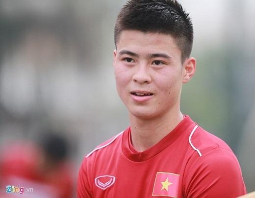 Duy Mạnh chia sẻ những điều kiêng kịtrước trận đấu. Cuộc so tài ĐTVN - Đài Loan (Trung Quốc) sẽ diễn ra lúc 19h hôm nay (24/3), trên SVĐ Mỹ Đình (Hà Nội).