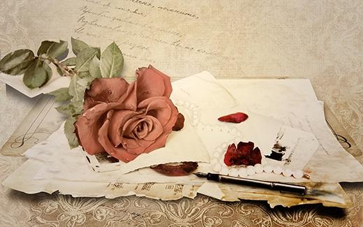 Những lá thư tình đã phai màu mực mà còn khiến vợ chồng gần trăm tuổi li dị nhau. (Ảnh: Internet)