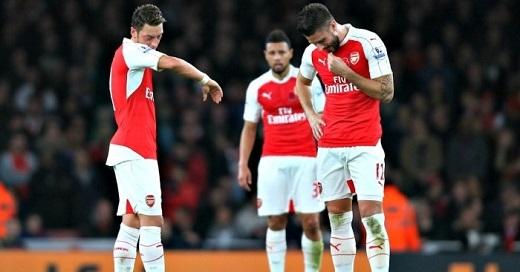"""Lại thêm một mùa giải thất bại của """"The Gunners"""". (Ảnh: Football365)"""