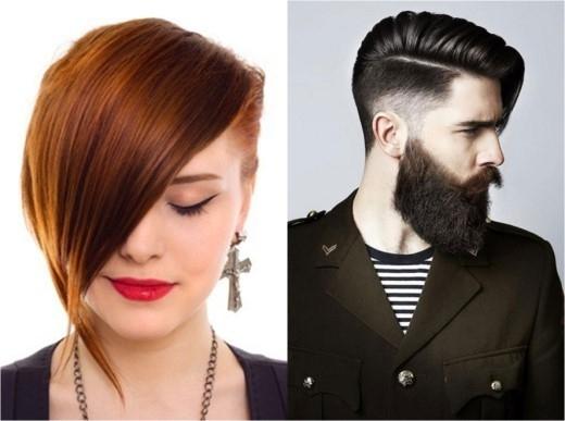 Thích khác biệt và ngẫu hứng, từ nam thanh đến nữ tú đều bị kiểu tóc bất đối xứng chinh phục.