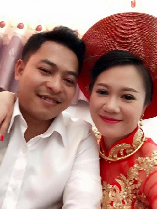 Hai vợ chồng Thu Thảo, Đình Trường (Ảnh: Internet)