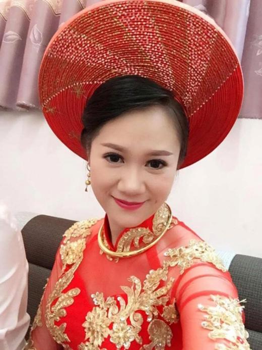 Cô dâu Thu Thảo xinh đẹp (Ảnh: Internet)