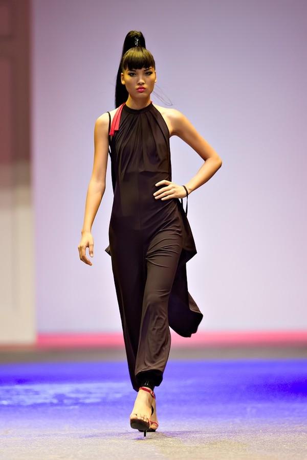 Chà Mi thờiđiểm thi Next Top Model năm 2013.
