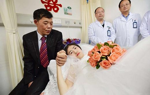 Đám cưới cổ tích của cô dâu mắc bệnh ung thư