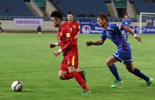 HLV Lê Thuỵ Hải đánh giá Quế Ngọc Hải là cầu thủ chơi tốt nhất bên phía ĐT Việt Nam. (Ảnh: Internet)