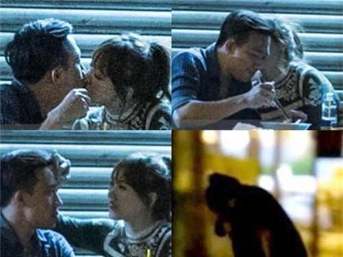 Cặp đôi bị bắt gặp thân mật với nhau hồi đầu tháng 2/2016. - Tin sao Viet - Tin tuc sao Viet - Scandal sao Viet - Tin tuc cua Sao - Tin cua Sao