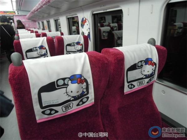 Choáng với ứng xử của hành khách trên chuyến tàu Hello Kitty đầu tiên