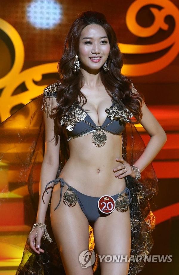 Lee Min Ji - thí sinh dự thi Hoa hậu Hoàn vũ Thế giới 2016