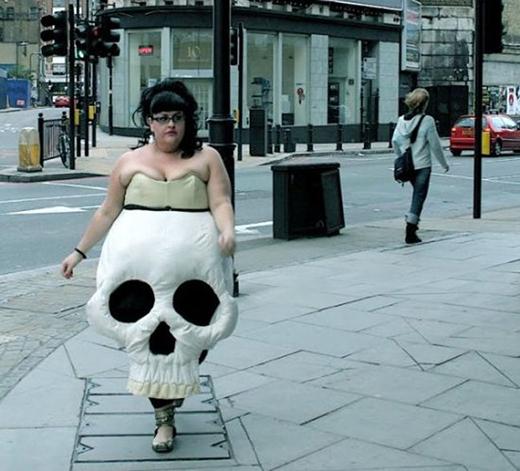 Thời trang bá đạo đi dạo phố.