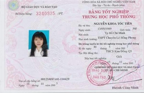 Những bảng điểm không ngờ của sao Việt thời còn đi học - Tin sao Viet - Tin tuc sao Viet - Scandal sao Viet - Tin tuc cua Sao - Tin cua Sao