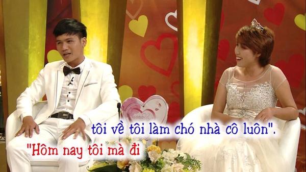 Cặp đôi không ngại kể xấu nhau trên sóng truyền hình