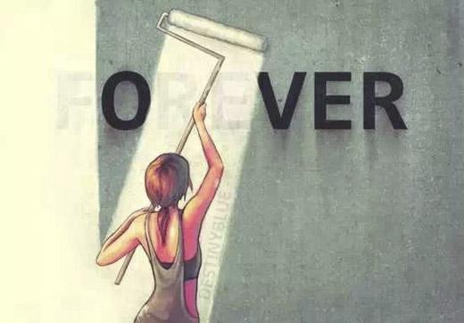 Trong quá khứ có rất nhiều thứ từng được coi là mãi mãi, nhưng rồi cuối cùng vẫn phải kết thúc.(Ảnh: Internet)