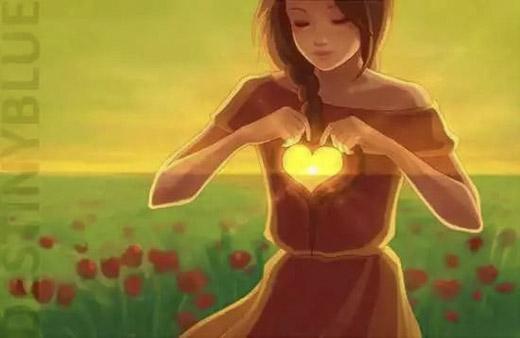 Khoảng trống trái tim... là thứ khó lắp đầy nhất trong cuộc sống này. (Ảnh: Internet)