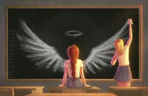 Bạn bè là để chắp cánh cho nhau, cùng nhau bay xa, cùng nhau tỏa sáng. Đó mới làý nghĩathực sự củatình bạn. (Ảnh: Internet)