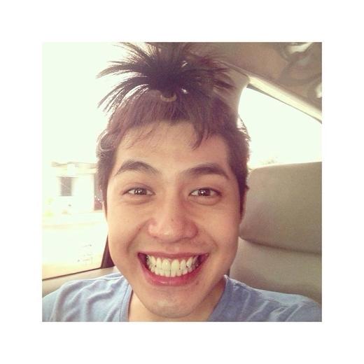 """""""Quả đầu"""" của Noo Phước Thịnh khiến fan không khỏi bật cười. - Tin sao Viet - Tin tuc sao Viet - Scandal sao Viet - Tin tuc cua Sao - Tin cua Sao"""