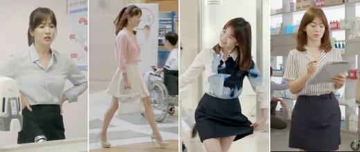 Mê mẩn cách phối đồ cực chất của Song Hye Kyo trong Hậu Duệ Mặt Trời
