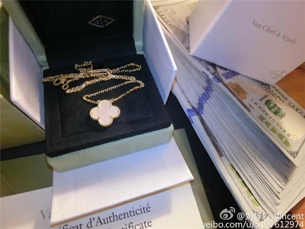 """Chút""""quà mọn"""" tặng mẹ. (Ảnh: Weibo)"""