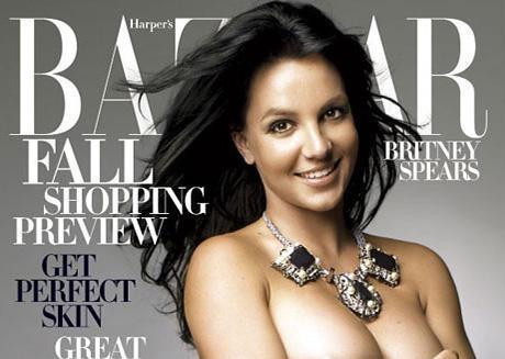 2006: Vác bụng bầu lên bìa Bazzar.(Ảnh: Internet)