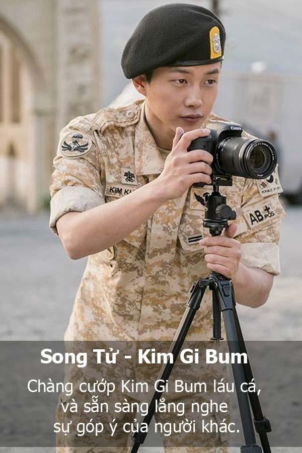 Song Tử là anh chàng láu cá Kim Gi Bum. (Ảnh: Internet)