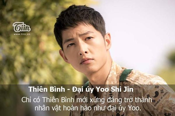 Chàng trai Thiên Bình đào hoa là đại úy Yoo Shi Jin. (Ảnh: Internet)