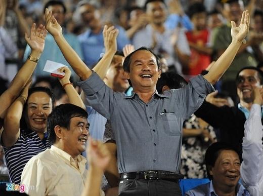 Bầu Đức tin rằng Hữu Thắng và U23 Việt Nam sẽ giành Huy chương vàng SEA Games 2017. (Ảnh:Tùng Lê)