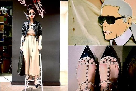 Cô sở hữu gu thời trang độc đáo, đa dạng.(Ảnh: Internet)