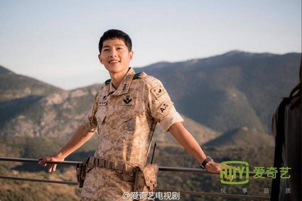 Yoo Shi Jin là nhân vật thêm thắt. Ảnh: IQiyi.