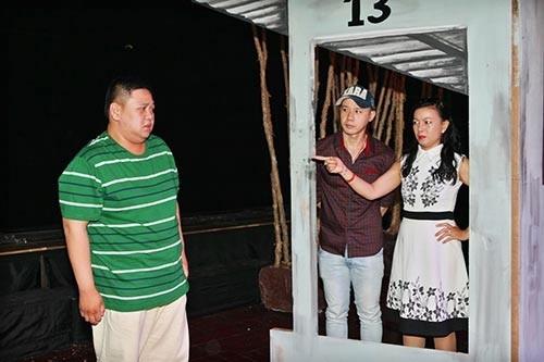 Minh Béo tập kịch cùng các diễn viên trẻ. Ảnh:Duy - Tin sao Viet - Tin tuc sao Viet - Scandal sao Viet - Tin tuc cua Sao - Tin cua Sao