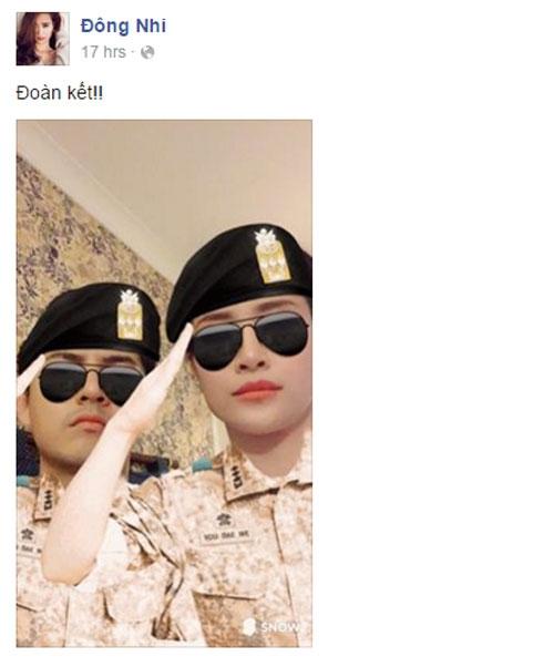 """Cặp đôi Đông Nhi - Ông Cao Thắng được xem là hai trong những nghệ sĩ Việt đi tiên phong trong trào lưu chế ảnh đang """"nổi đình nổi đám"""" này. - Tin sao Viet - Tin tuc sao Viet - Scandal sao Viet - Tin tuc cua Sao - Tin cua Sao"""